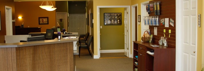 Chiropractic Chattanooga TN front desk